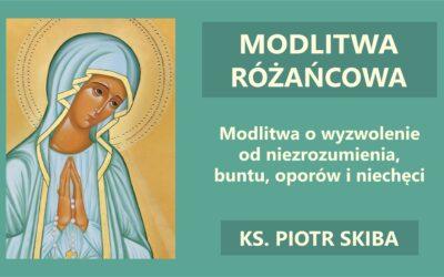 Adoracja – Modlitwa Różańcowa