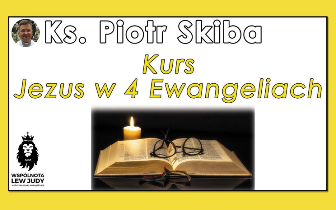 Jezus wczterech Ewangeliach